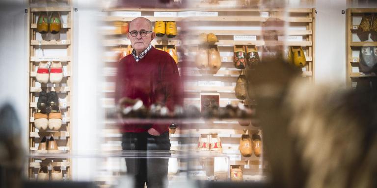 Bertus van den Hof kijkt uit naar een verhuizing naar een nieuw te vormen Museumplein van Eelde. Foto: Siese Veenstra
