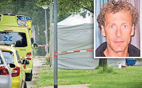 Jan Elzinga werd in 2012 vermoord bij het zwembad in Marum.