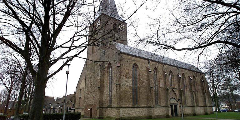 De kerk in Diever.