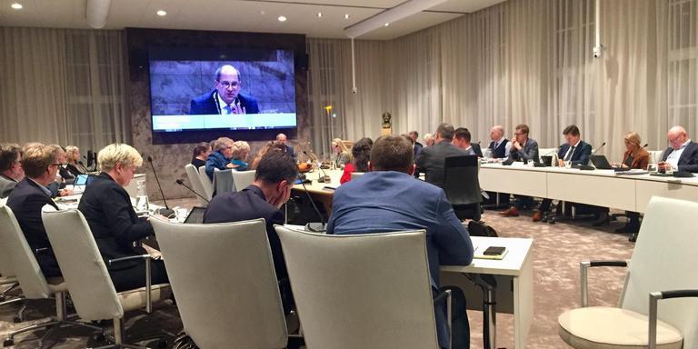 De gemeenteraad van Hoogeveen debatteert over de begroting 2019-2022. Foto: DvhN