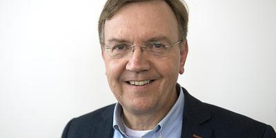 Henk Huttinga, fractieleider ChristenUnie Emmen.