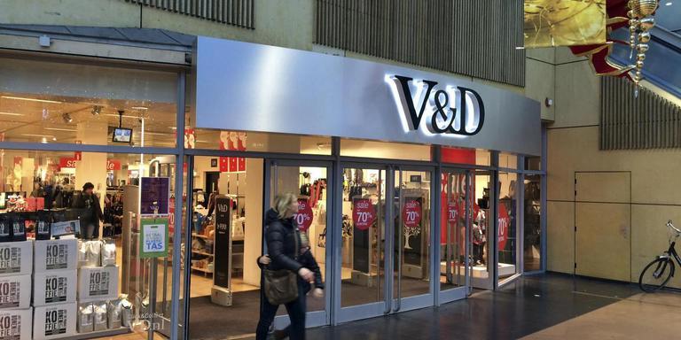 De voormalige V&D in Emmen. FOTO ARCHIEF DVHN