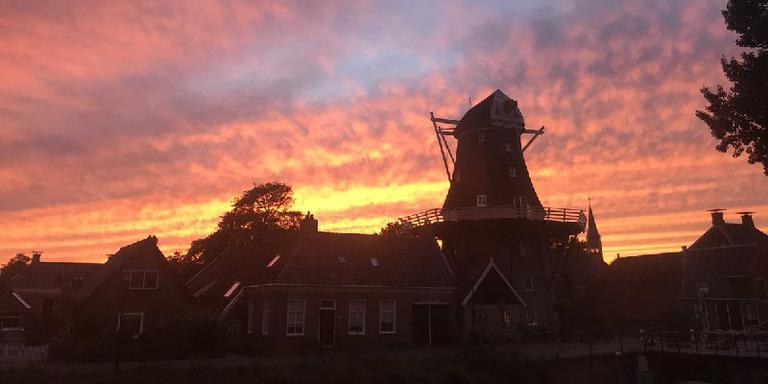 De molen van Onderdendam. Foto: DvhN/Rob Zijlstra