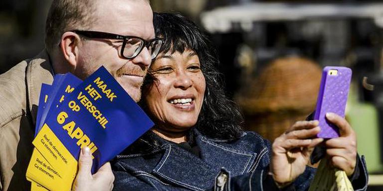 Jan Roos is de voorman van het referendum. FOTO ANP