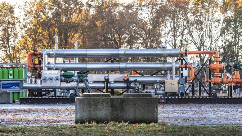 De NAM mag extra gas winnen uit het veld onder Marsdijk in Assen. Foto Marcel Jurian de Jong