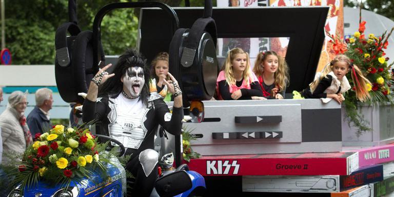 De winnende praalwagen van De Groeve. FOTO HARRY TIELMAN