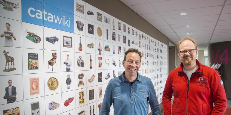 Oprichters Rene Schoenmakers en Marco Jansen van Catawiki.