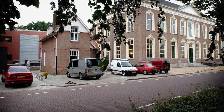 Het pand van RTV Drenthe aan de Beilerstraat in Assen. Foto Archief DvhN