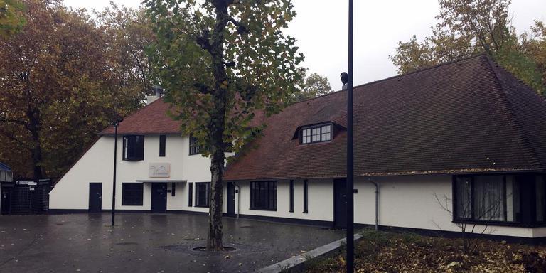 De achterkant van De Drommedaar in Emmen gaat over twee weken open. EIGEN FOTO