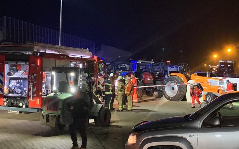 Ernstig ongeval bij evenement tractorpulling in Expo Assen.