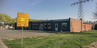 Het café is al geruime tijd dicht. Foto: DvhN