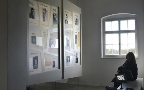 Ode aan 'de groep Meppelaars' in Gedenkstätte Buchenwald