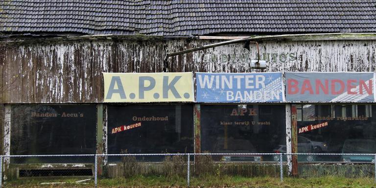 Garage van Dam, Hoogersmilde. Foto's: Kor Bakker