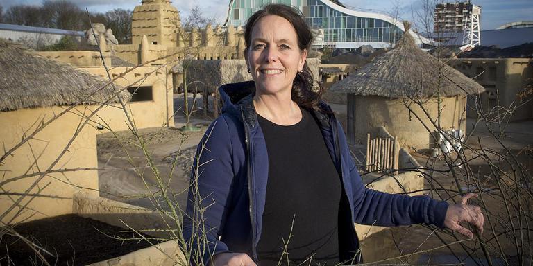 Irene Louwrier heeft ontslag genomen als hoofd marketing van Wildlands Adventure Zoo in Emmen. FOTO JAN ANNINGA