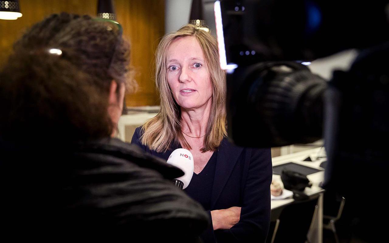 Advocaat Liesbeth Zegveld, advocaat van de nabestaanden van de Molukse treinkapers: ,,Ik heb niets tegen Van Agt.''