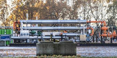 Een gaswinningslocatie bij Marsdijk, Assen. Foto Marcel Jurian de Jong