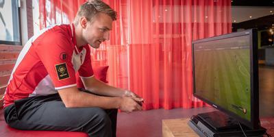 Luuk Jans acteert dit seizoen op het hoogste niveau als eSporter van FC Emmen.