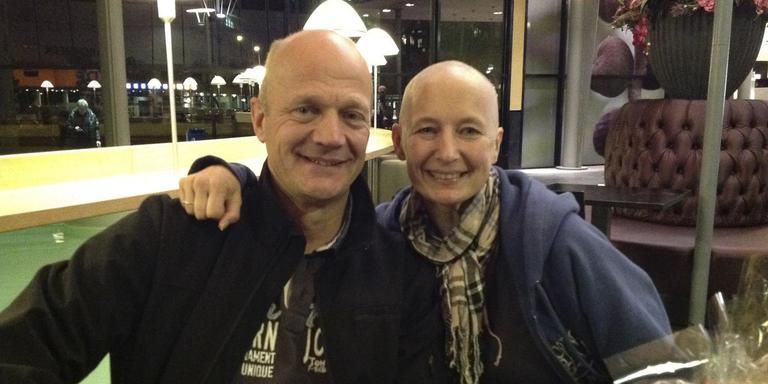 Broek Henk gaf Anita de stamcellen voor de transplantatie
