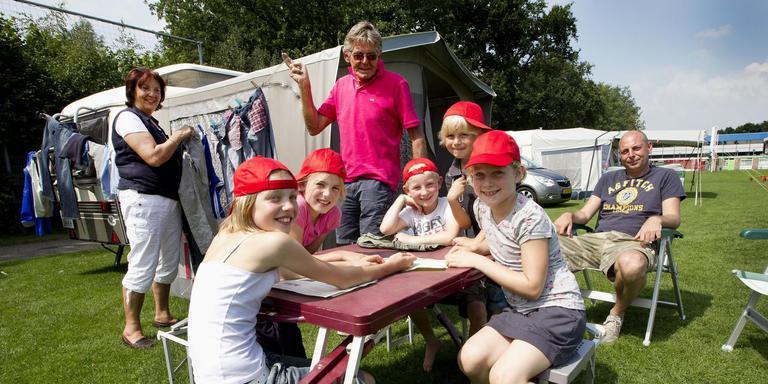 Hoogeveen zet erop in dat gezinnen met kinderen er vaker voor kiezen vakantie te vieren op een camping op het grondgebied van deze gemeente. Foto: Archief Harry Tielman