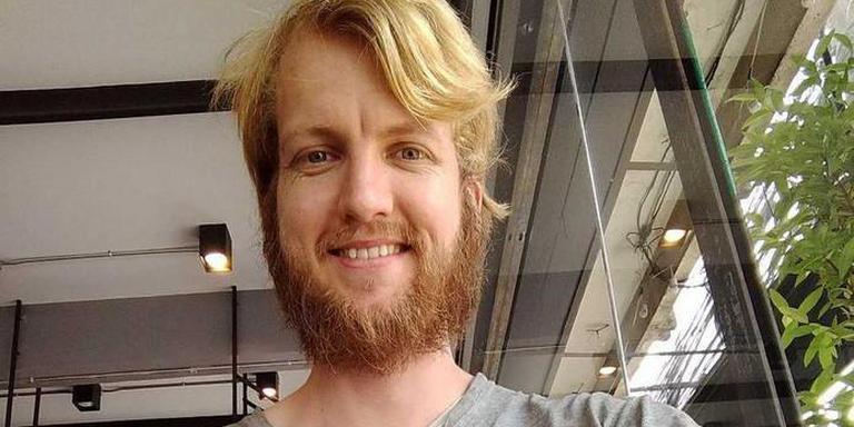 De sinds maandag in Laos vermiste Mattijn Lahuis. (foto: Gofundme-pagina rescue mattijn)