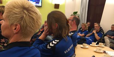 De aanhang van Treffer'16 kleurde de raadszaal blauw.