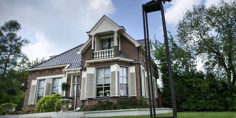 Mooi wonen in het welvarende Noord-Drenthe. Een huis in Peize. Foto: Archief DvhN/Corné Sparidaens