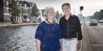 Lily van der Vegt en Dick Schuur van Kunst aan de Vaart.