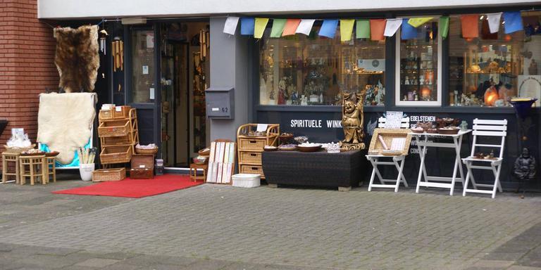 Spirituele winkel Kristal van Licht. Foto: Annemie Kramer