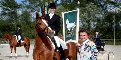 Acteur en presentator Nick Kamerling tijdens de perspresentatie van Patijn's Paarden Revue.