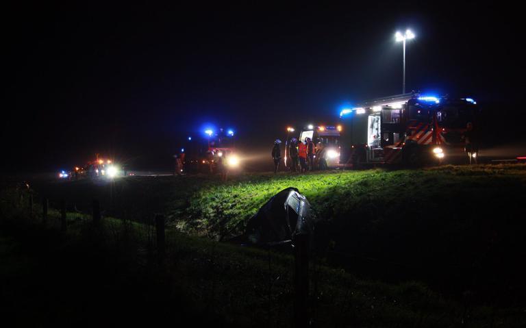 Gewonden bij ongeluk op A37 bij Hoogeveen.