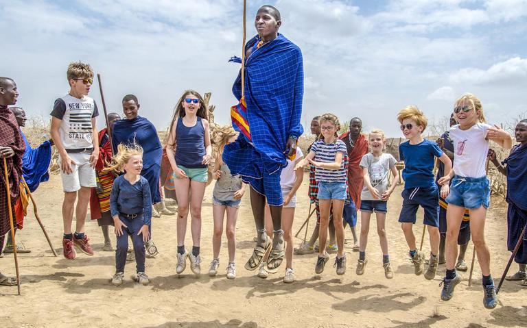 Reizen met jonge kinderen: Gruwen van apenhersenen