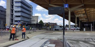 Het pas gerenoveerde station te Assen Foto DvhN