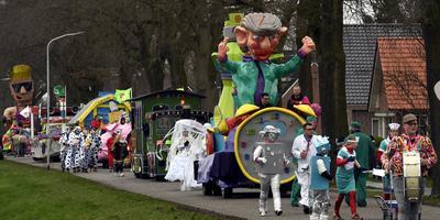 Carnavalsoptocht Zwartemeer.