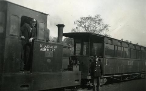 De laatste tram dwars door Drenthe