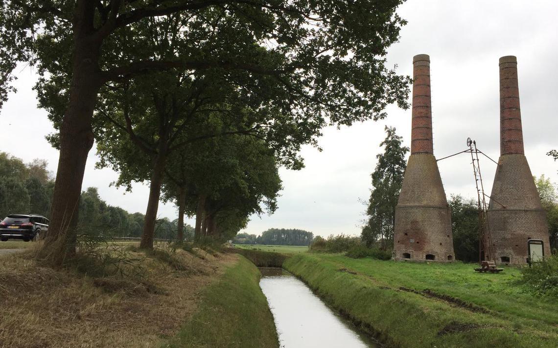 Nieuwe eigenaar vroegere kalkovens bij Dieverbrug - Dagblad van het Noorden