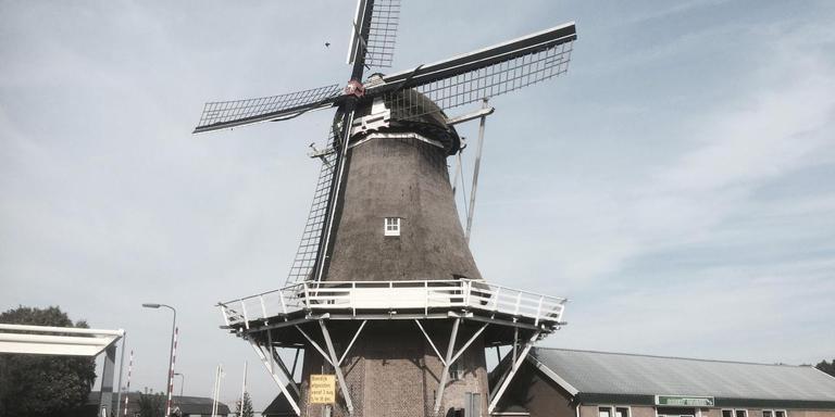 Molen Nooitgedacht in Veenoord. Foto: Jan Willem Horstman