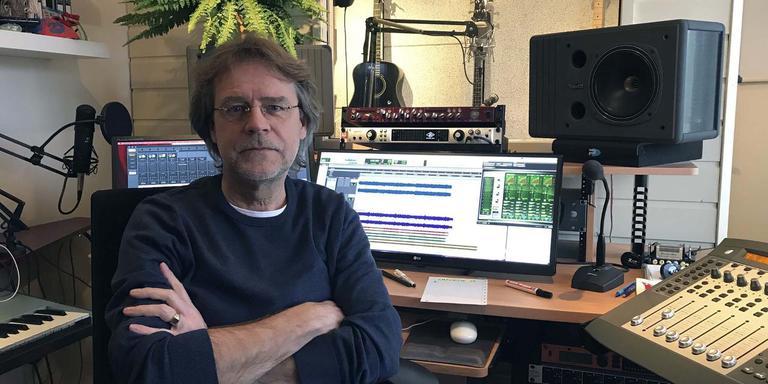 Janderman van den Berg schreef het lied in 1986. Foto: DvhN