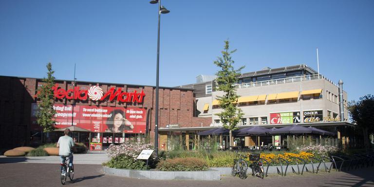 Het Noorderplein, het enige deel van Het Oude Centrum dat de afgelopen jaren wel onder handen is genomen. Foto: DvhN