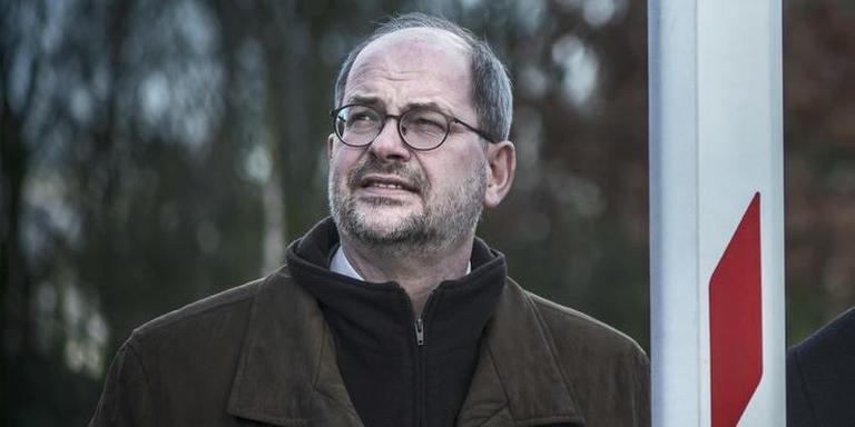 Burgemeester Loohuis van Hoogeveen. FOTO CORNE SPARIDAENS