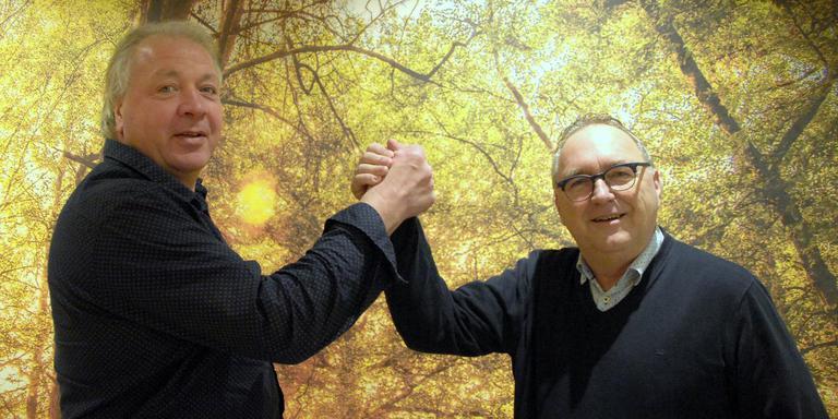 Gerrit Kamps en Gerrie Kreuze. Foto Hugo Faber