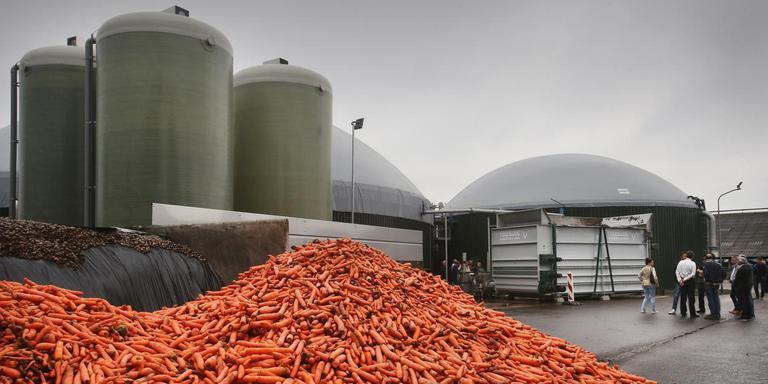 Een biovergistingsinstallatie. Deze heeft met de strijd tussen het OM en het bedrijf in Coevorden niets te maken. Foto: Archief DvhN