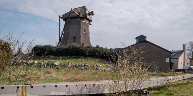 De Meule van Wassens in Zuidwolde wacht een flinke opknapbeurt. Foto DvhN