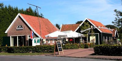 De Koloniehof, bij de rotonde in Frederiksoord. FOTO ARCHIEF DVHN