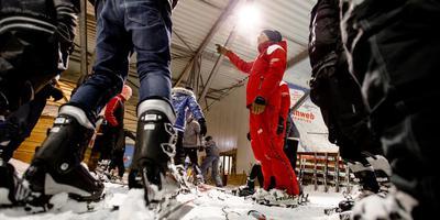 De nieuwe ijshal moet lijken op SnowWorld in Zoetermeer. FOTO ANP