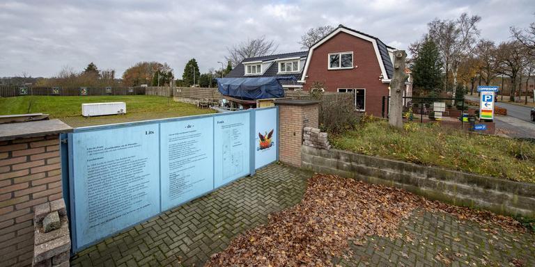 Het terrein aan de Annerweg in Zuidlaren waar de begraafplaats moet komen. Foto: Marcel Jurian de Jong