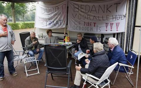 Bewoners camping Anloo moeten voor 1 februari vertrekken èn betalen