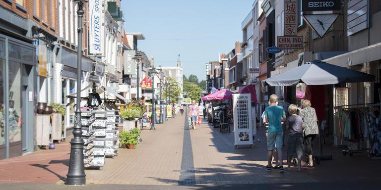 De Friesestraat in Coevorden.