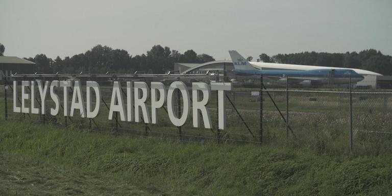 Lelystad Airport. Foto Zembla