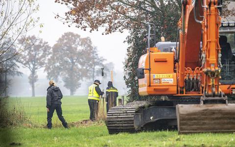 Hoofdofficier vergelijkt gravers naar Willeke Dost met blokkeerfriezen