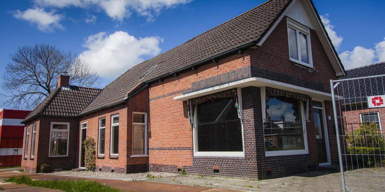 Het voormalige postkantoor van Ten Post is versterkt en energiecentraal.